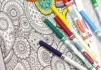 Relax with Adult Colouring Books from Vintage Pen Press #TWCMgifts