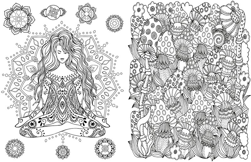 Relax with Adult Colouring Books from Vintage Pen Press #TWCMgifts ...