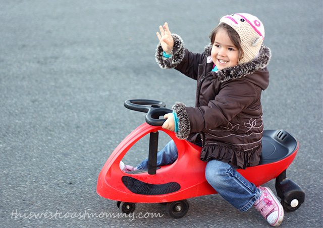 PlasmaCar is a fun ride-on toy for kids of any age!