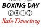 Boxing Week 2015 Cloth Diaper and Babywearing Sales