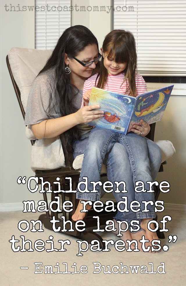 """Children are made readers on the laps of their parents."""