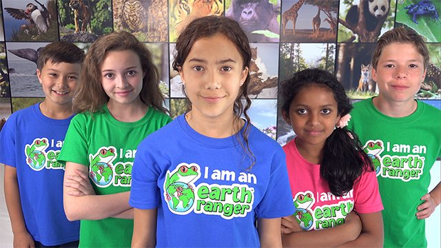 Over 100,000 Earth Ranger members take action every day to protect our planet
