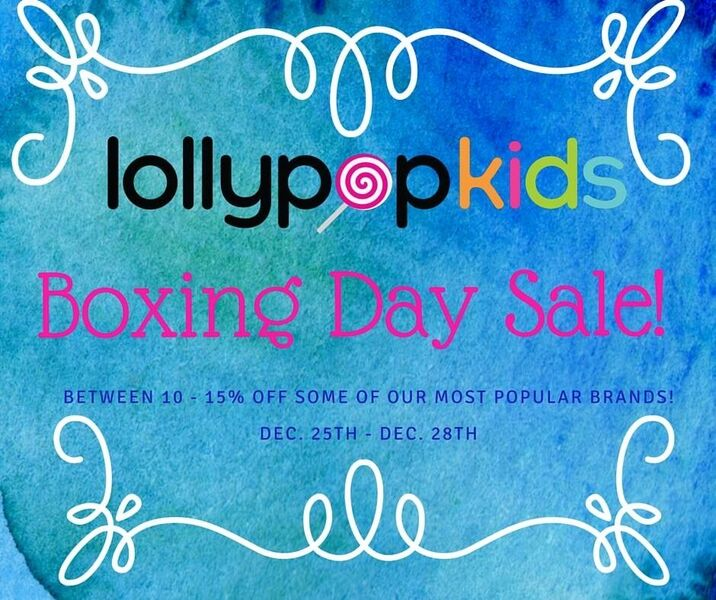 Lollypop Kids Boxing Day Sale