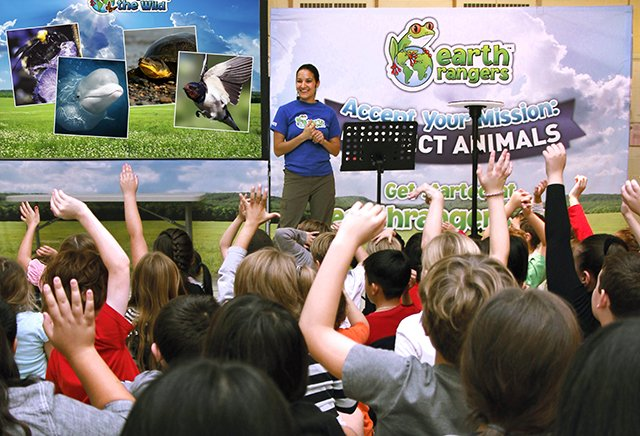 Earth Rangers provides eco educational and action programs for children across Canada