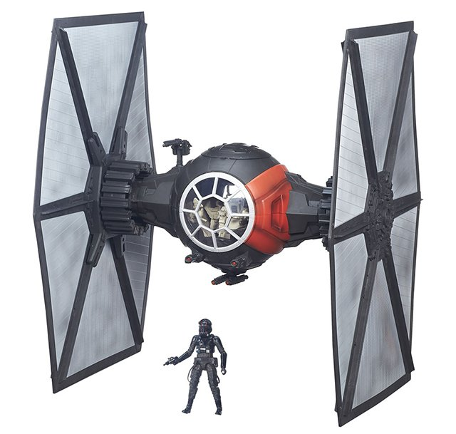 Star Wars Episode VII Black Series 6 Deluxe First Order Special Forces TIE Fighter (2)