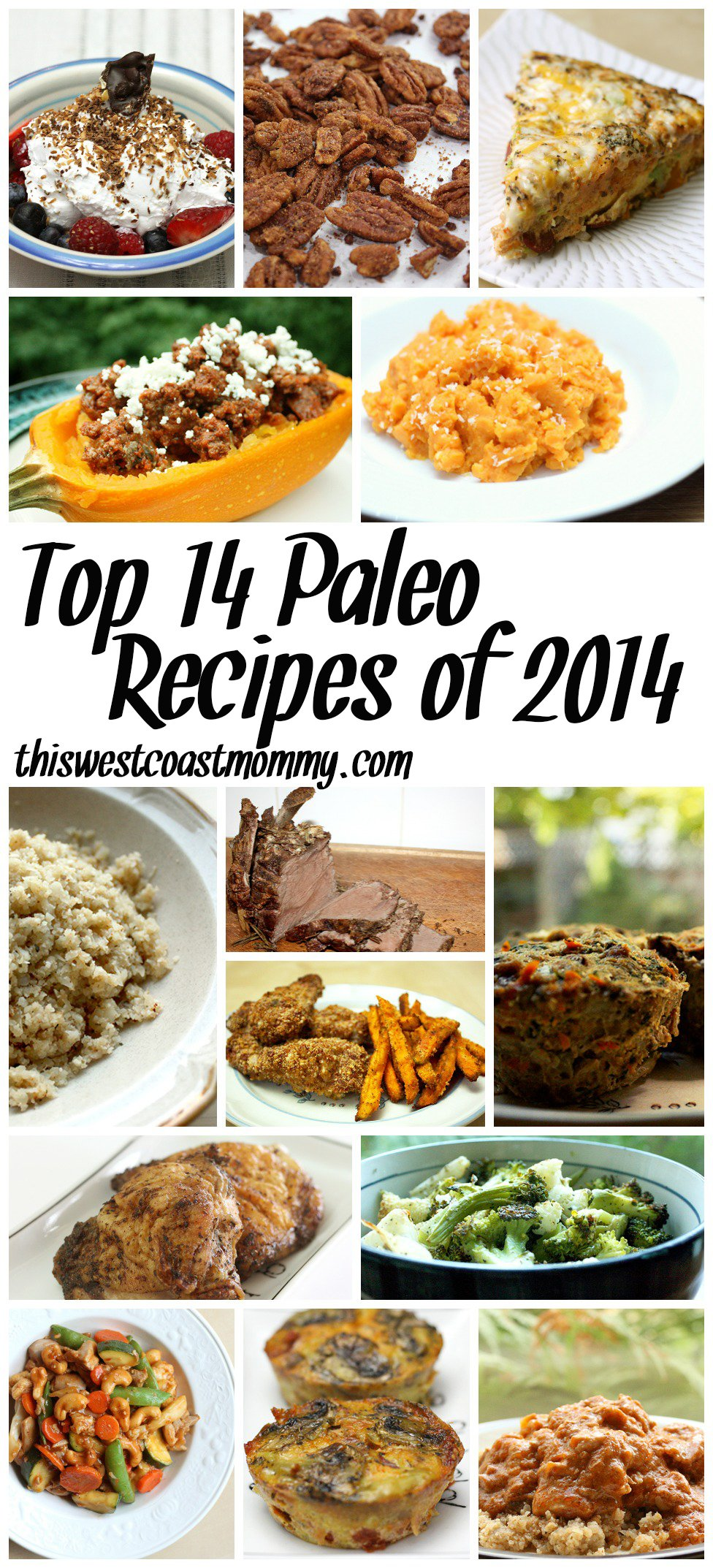Top 14 Paleo Recipes of 2014
