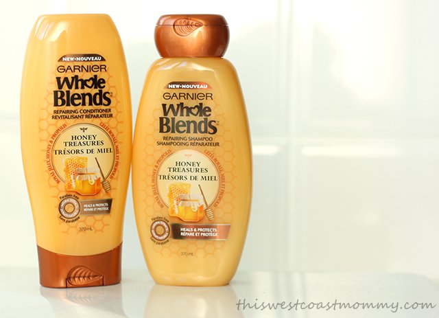 Whole Blends Honey Treasures hair care