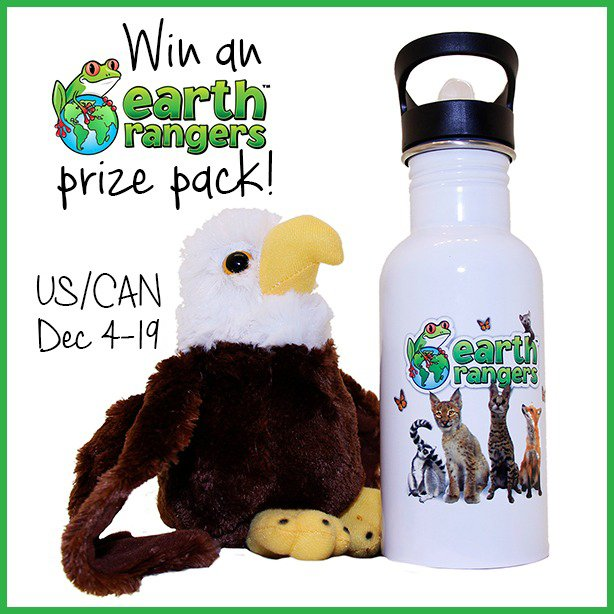 Win an Earth Rangers prize pack (US/CAN, 12/19)
