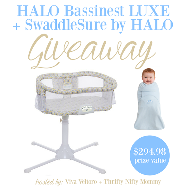 HALO Bassinest LUXE Giveaway