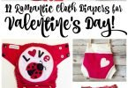 12 Romantic Cloth Diapers for Valentine's Day