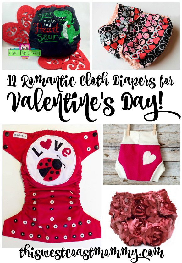 12 Romantic Cloth Diapers