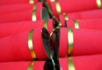 Chinese New Year Craft: Toilet Paper Tube Firecrackers