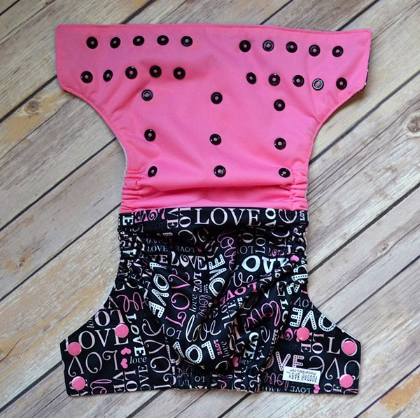 That's Love OS pocket diaper from Poodah Diaper