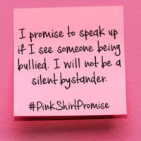 pinkshirtpromise social