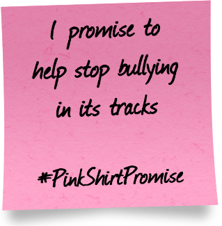 What's your #PinkShirtPromise?