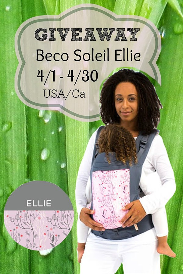 Beco Soleil baby carrier giveaway (US/CAN, Apr 1-30)