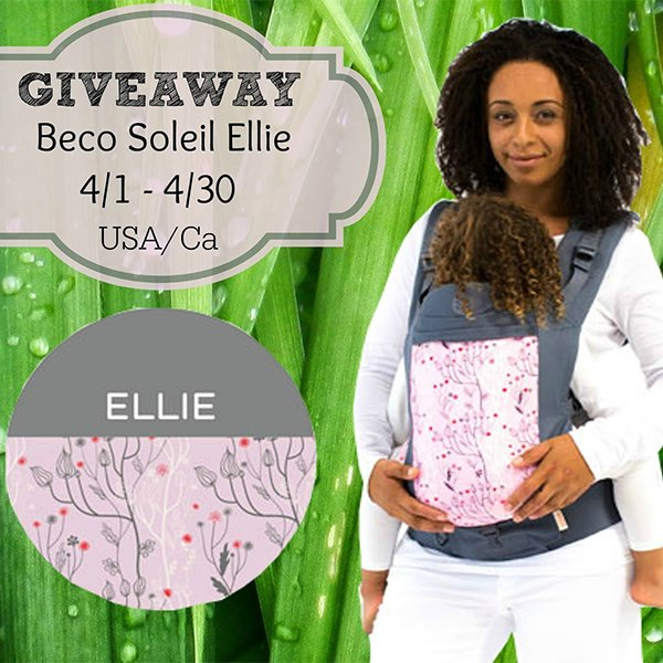 f049f6184f8 Win a Beco Soleil Baby Carrier in Ellie!  Closed