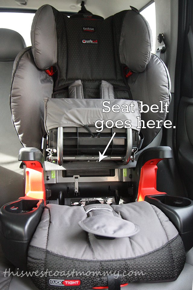 Britax Frontier ClickTight Harness-2-Booster: The Last Car Seat Your ...