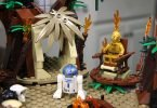 Totally Not Wordless Wednesday: LEGO Star Wars Ewok Village