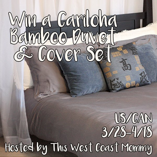 Cariloha duvet and cover giveaway (US/CAN, 4/18)
