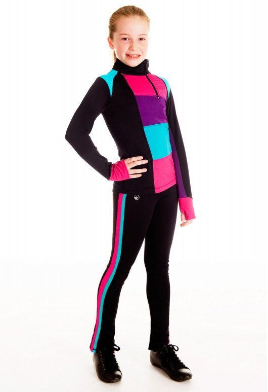 Crossover Long Sleeve Pullover and On the Run Triple Axel Skate Leggings