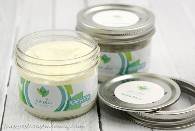 Eco Chic Movement Body Butters