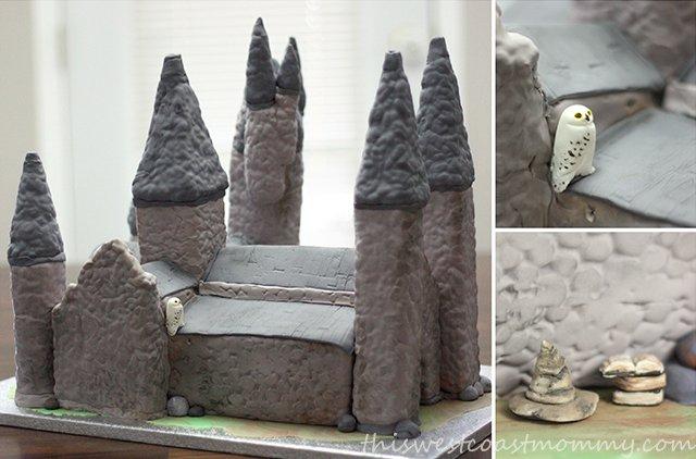 Custom Hogwarts Cake
