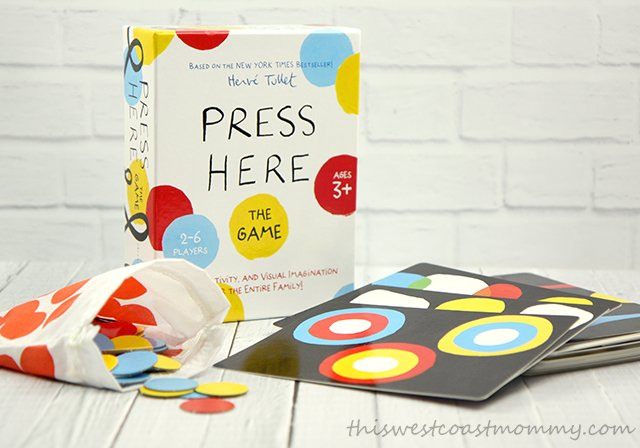 Press Here board game
