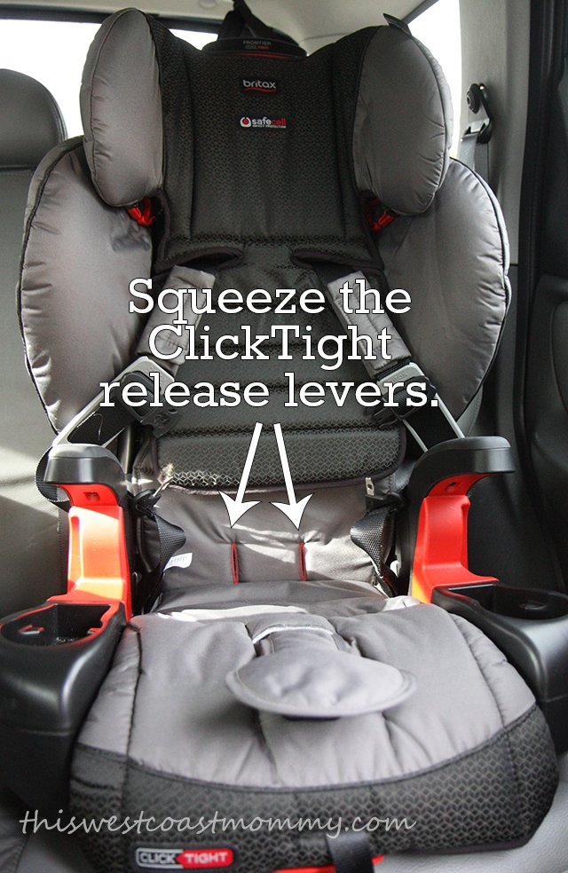 Squeeze The ClickTight Release Levers