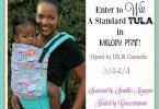 Win a Tula Baby Carrier in Melody {Closed}