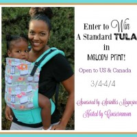 Win a Tula carrier in Melody