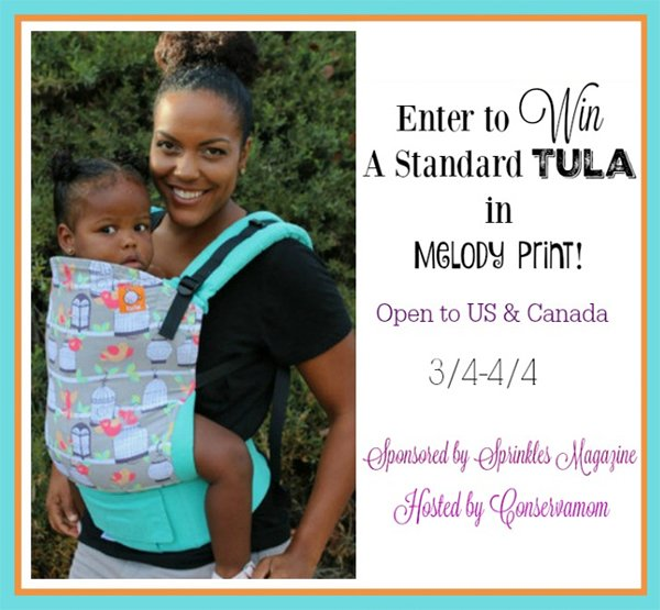 Win a Tula baby carrier in Melody (US/CAN, 4/4)