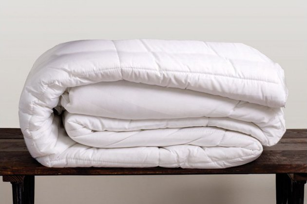 Cariloha's new all-season bamboo duvet is made inside and out from viscose from bamboo.
