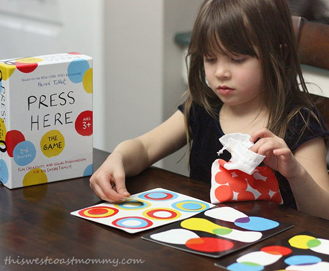 playing the Press Here game
