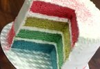 Wordless Wednesday: Rainbow Birthday Cake