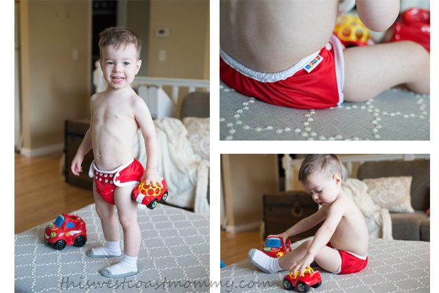 The Bummis AIO works just as well for tiny babies as it does for toddlers, and the quality means you can use it for multiple children!