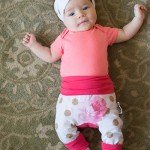 Coton Vanille Evolutive Pants for Growing Babies and Toddlers