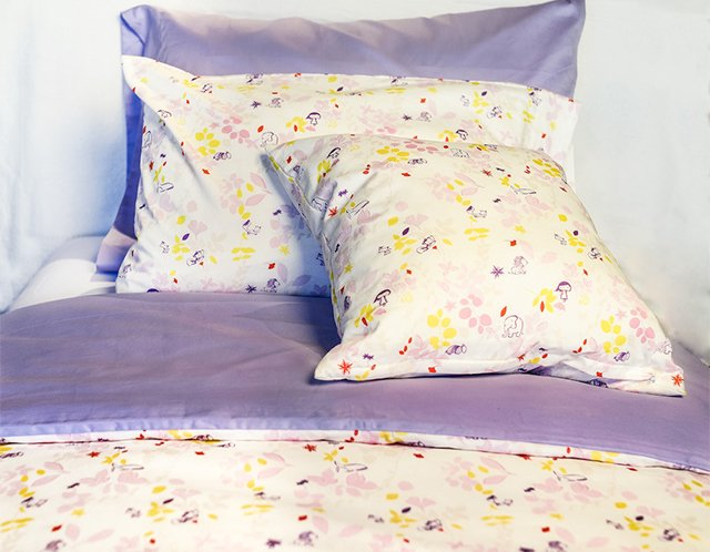Owl & Birds Organic Bedding