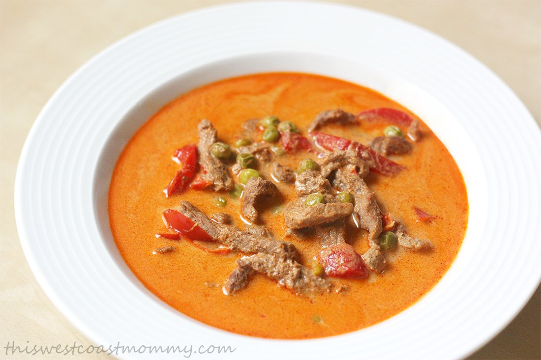 Thai Red Beef Curry Recipe — Dishmaps