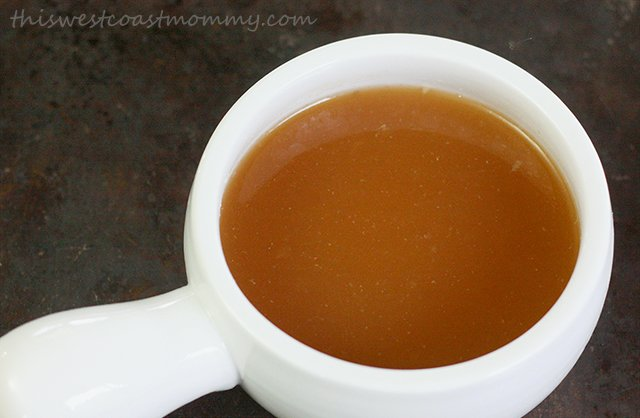 Homemade Beef Bone Broth
