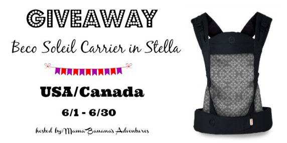 7db1d74b7a5 Win a Beco Soleil Baby Carrier in Stella!  Closed