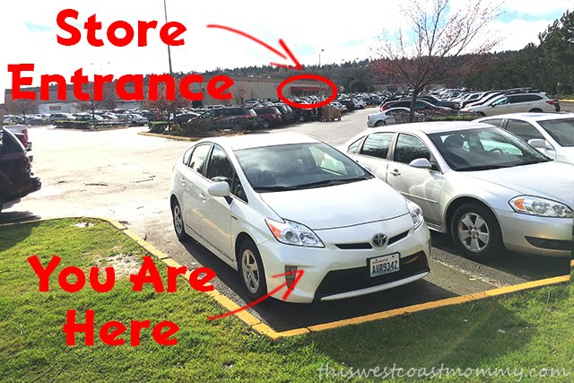 Costco Parking
