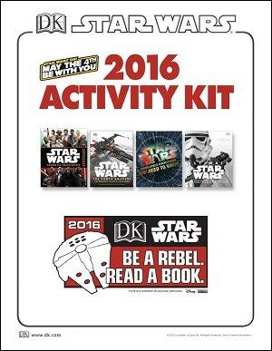 DK Books Star Wars Day Activity kit