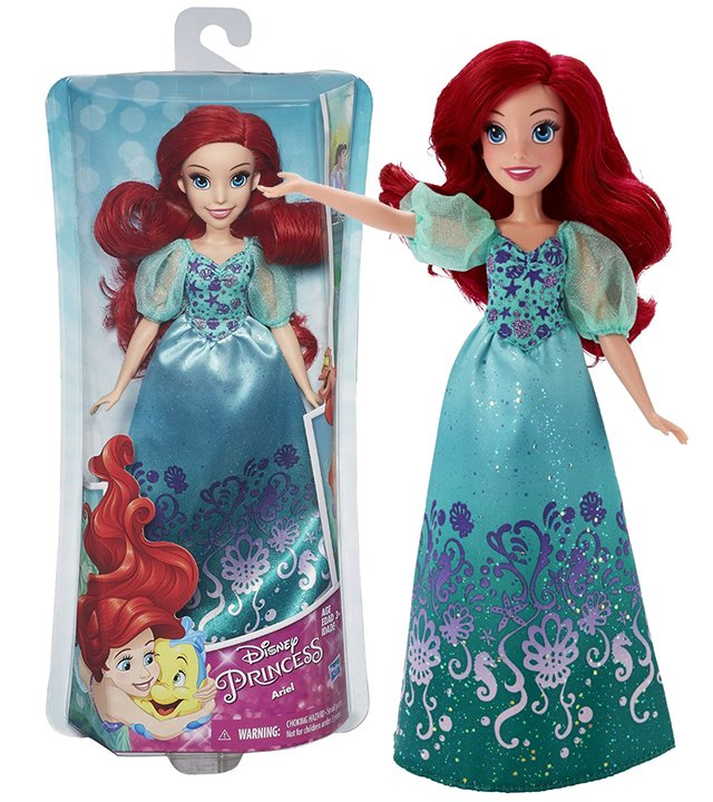 Disney Princess Royal Shimmer Ariel Doll