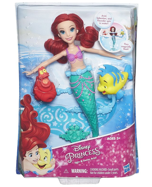 Disney Princess Spin & Swim Ariel Doll