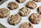 Gluten-Free Crackled Chocolate and Pecan Cookies #compromisefree