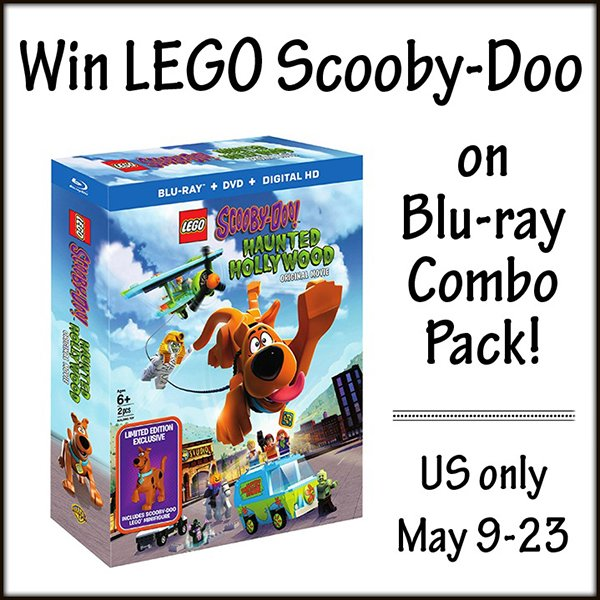 Win a LEGO Scooby-Doo!: Haunted Hollywood Blu-ray Combo Pack (US, 5/23)
