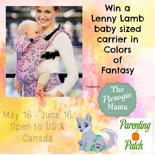81bdda29172 Win a Lenny Lamb Baby Carrier!  Closed
