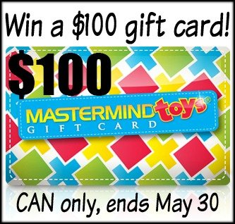 Win a $100 Mastermind Toys gift card (CAN, 5/30)