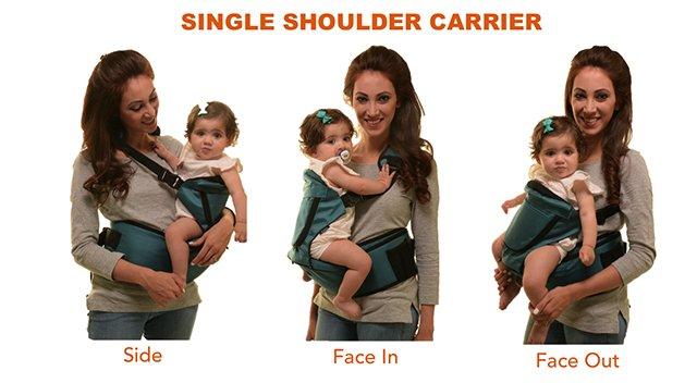 Single Shoulder Carrier Holds